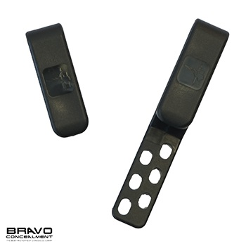 Bravo Concealment ® IWB Belt Clips für Torsion 3.0 Holster