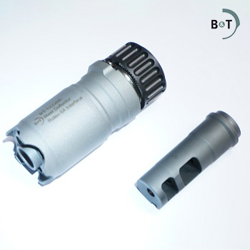 "B&T ® Blast Deflector Rotex-IIA inkl. Flash Hider (1/2""x28) - Grey"