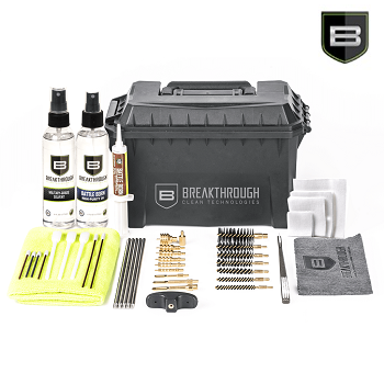 Breakthrough ® Ammo Can Cleaning Kit 1 (Universal) - Black