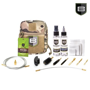 "Breakthrough ® Quick Weapon Improved Cleaning Kit ""3 Gun"" (9mm/5.56mm/12 GA) - MultiCam"