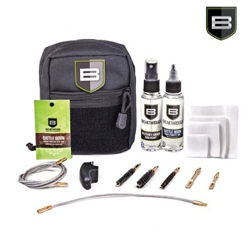 "Breakthrough ® Quick Weapon Improved Cleaning Kit ""Military"" (9mm/5.56mm/7.62mm) - Black"