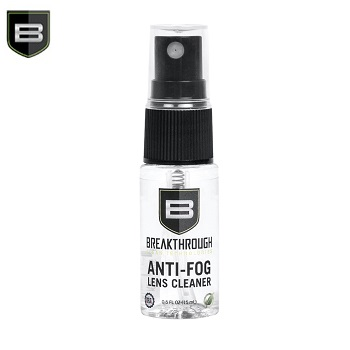 Breakthrough ® Anti-Fog Lens Cleaner mit Sprühkopf - 15ml Flasche