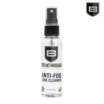 Breakthrough ® Anti-Fog Lens Cleaner - 59ml Flasche mit Sprühkopf