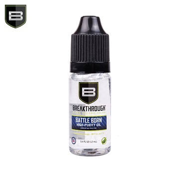Breakthrough ® Battle Born High Purity Schmier & Pflege Öl - 12ml Flasche