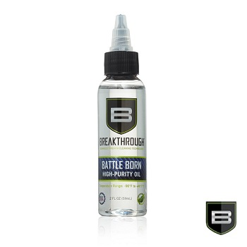 Breakthrough ® Battle Born High Purity Schmier & Pflege Öl - 59ml Flasche