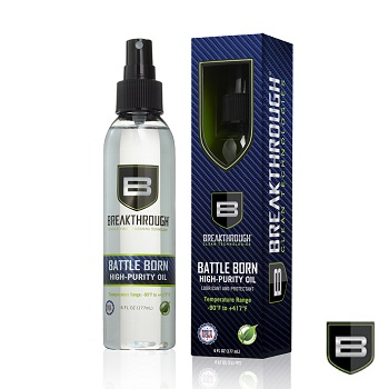 Breakthrough ® Battle Born High Purity  Schmier & Pflege Öl - 177ml Flasche