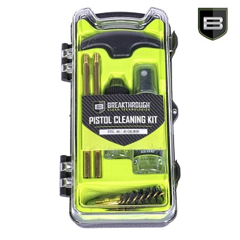 Breakthrough ® BCT Vision Series Pistol Cleaning Kit - .44/.45