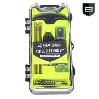Breakthrough ® BCT Vision Series Pistol Cleaning Kit - .357/.38/9mm