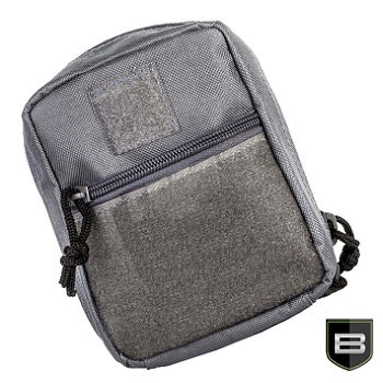 "Breakthrough ® Molle Pouch ""Medium"" - Wolf Grey"