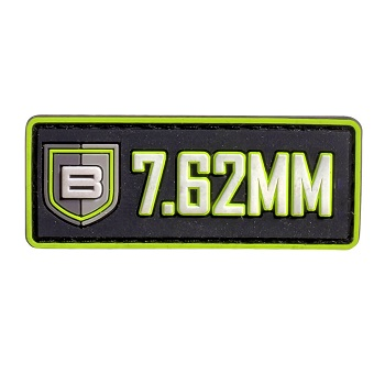 "Breakthrough ® PVC-Patch mit Velcro ""7.62mm"""