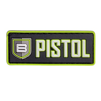 "Breakthrough ® PVC-Patch mit Velcro ""Pistol"""