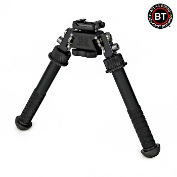 "B&T Industries ® BT10 V8 Atlas BiPod / Zweibeinstütze ""Picatinny"" Version - Black"