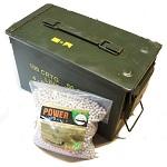 Bio Balls 0.20g Bio BBs inkl. Munitionskiste - 35'000rnd