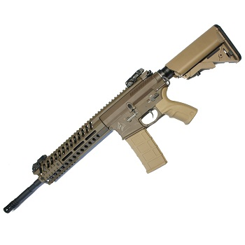"Black OPS x Lonex M4 LT595 Carbine AEG/EBB ""Recoil"" - Dark Earth"