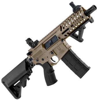 Black OPS x Lonex M4 LT595 Shield AEG/EBB - Desert