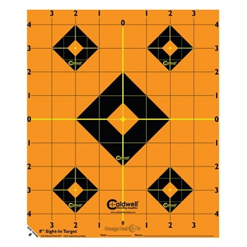 "Caldwell ® Orange Peel 8"" Sight-In Target - 5er Pack"