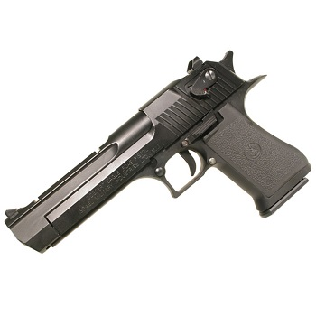 KWC x IMI Desert Eagle .50AE Co² BlowBack - Black