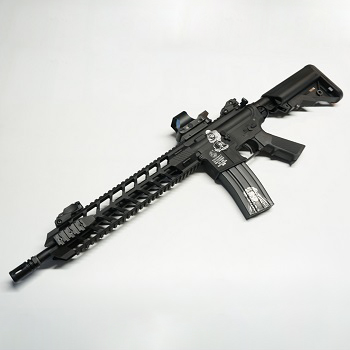 "Dytac x Colt M4 ""Santa Muerte Custom"" QSC AEG Set *Limited Edition* - Black"