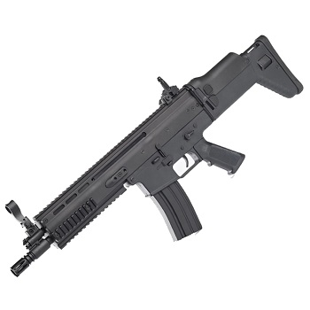 FN SCAR-L CQC AEG (Fiber) - Black
