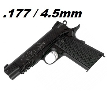 KWC x BLACKWATER BW1911 R² BlowBack Co² 4.5mm BB
