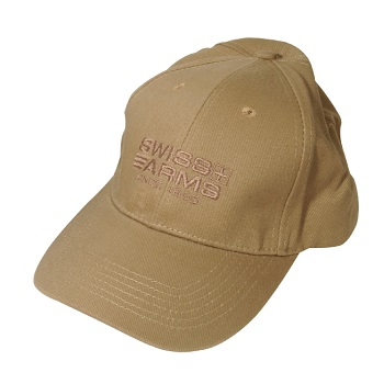 SWISS Arms Cap, Coyote - Gr. M/L