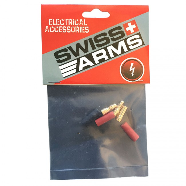SWISS Arms Gold Plug Connectors - 2er Set