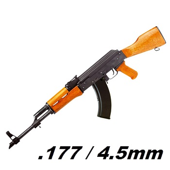 Kalashnikov AK47 Holz/Stahl Co² 4.5mm BB - 2 Joule advent