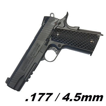 KWC x SWISS Arms SA 1911 MRP Co² BlowBack 4.5mm BB - Black