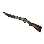 C.M. Mossberg M500 Silver 8mm Shotgun