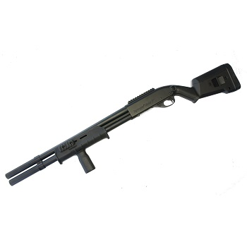 C.M. M870 SGA Shotgun (Markings Version) - Black