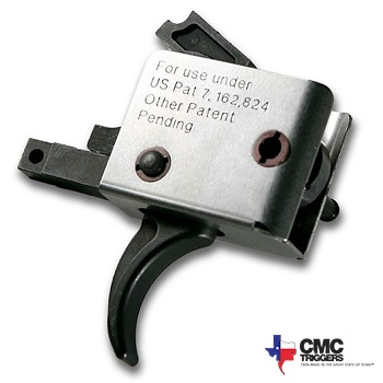CMC Triggers ® Drop-in Two Stage Trigger für AR-15 / M4 - Curved