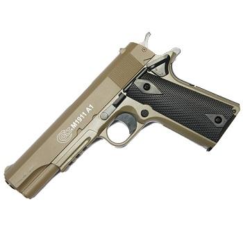 KWC x Colt M1911 A1 Tactical Spring/Federdruck - Desert