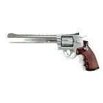 "WinGun Super Sport 703 8"" Co² Revolver - Chrome"