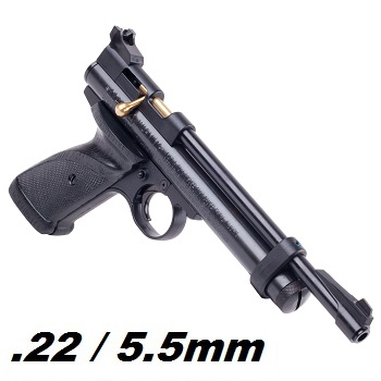 Crosman 2240 Co² Luftpistole 5.5mm Diabolo, Black - 6.9 Joule