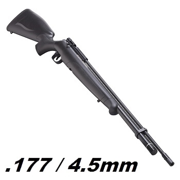 Crosman x Benjamin Maximus Hunter HPA Luftgewehr 4.5mm Diabolo, Black - 23.7 Joule