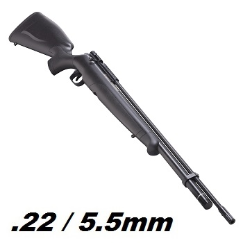 Crosman x Benjamin Maximus Hunter HPA Luftgewehr 5.5mm Diabolo, Black - 23.5 Joule