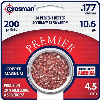 Crosman Copper Magnum Diabolos 4.5mm - 200rnd