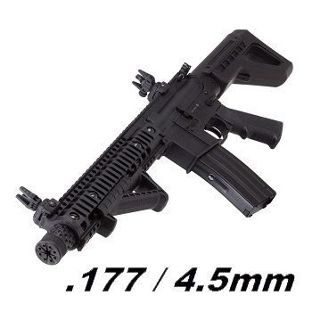 Crosman x DPMS M4 SBR Co² BlowBack 4.5mm BB - Black