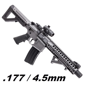 Crosman x DPMS M4 SBR Co² BlowBack 4.5mm BB - Stealth Grey