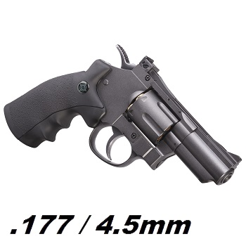 Crosman SNR.357 Co² Revolver 4.5mm Diabolo & BB - Grey