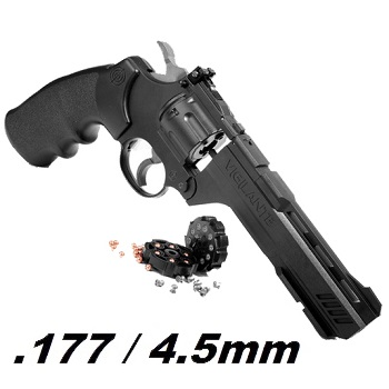 "Crosman Vigilante 6"" Co² Revolver 4.5mm Diabolo & BB"