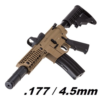Crosman x Bushmaster M4 MPW Co² BlowBack 4.5mm BB - Desert
