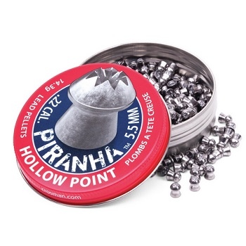 Crosman Piranha Hollow Point Diabolos 5.5mm - 400rnd