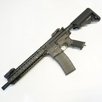 Custom TIPPMANN M4 MK18 MOD1 HPA/Co² BlowBack - Black