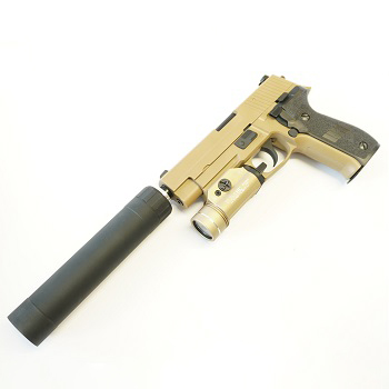 "Custom WE F226 / P226R ""MK25"" SEALs GBB Set - TAN"