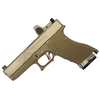 Custom WE G17 AGY RMR Kit GBB - Desert