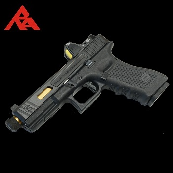 RA-Tech Custom VFC G17 Gen.4 SAI Tier 1 RMR GBB (Steel Slide) - Black