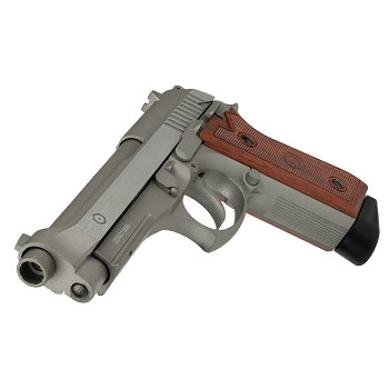 KWC x CyberGun PT99 Co² BlowBack (Semi & Auto) - Stainless