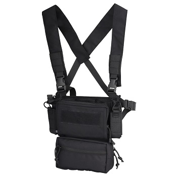SWISS Arms Mini Rig Tactical Vest - Black