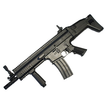FN SCAR-L CQC Spring/Federdruck - Black